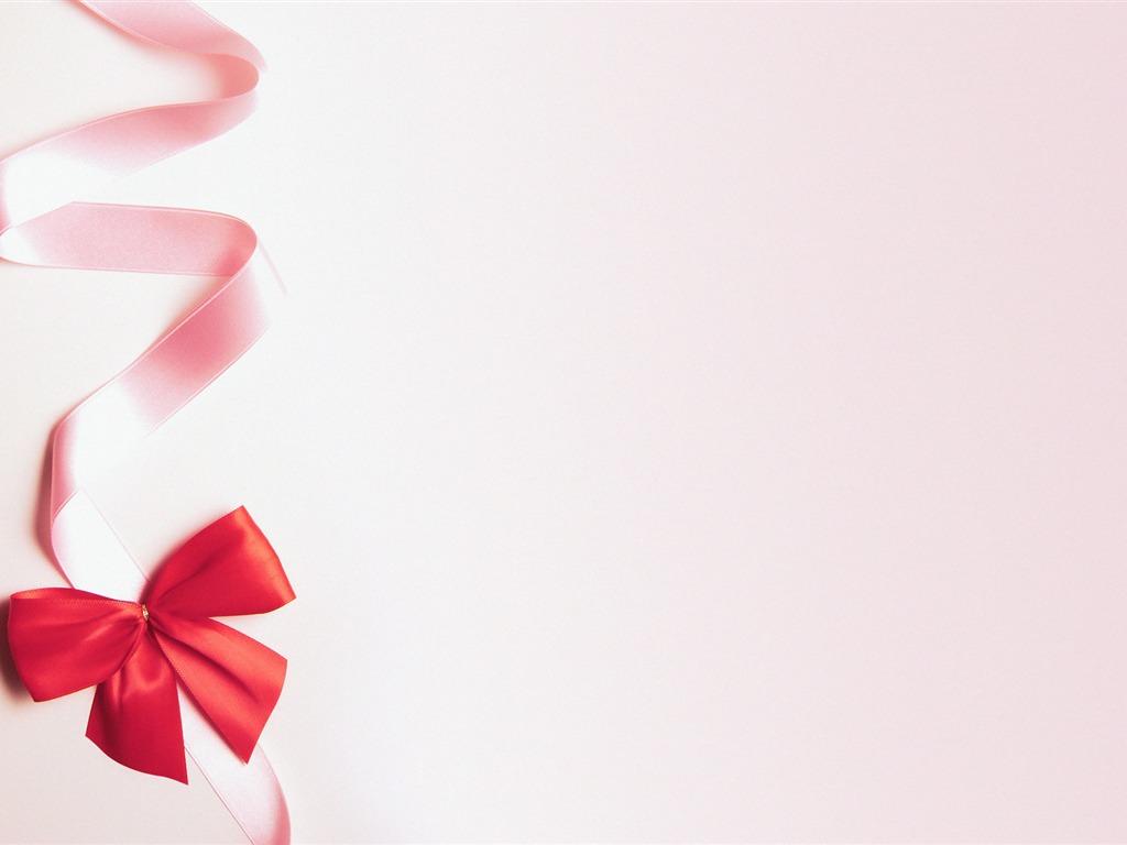 #C61205 Petite Décoration De Noël Ruban Rose Fond D'écran  6019 décoration de noel rose 1024x768 px @ aertt.com