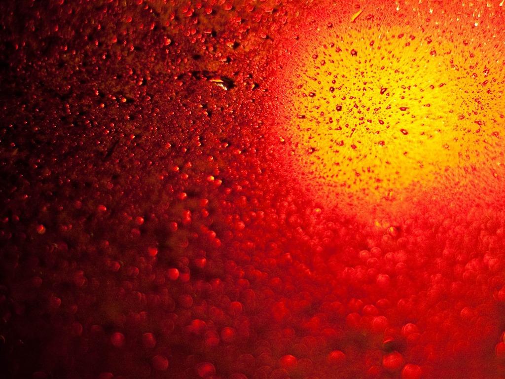 red water dropswater theme desktop wallpaper view