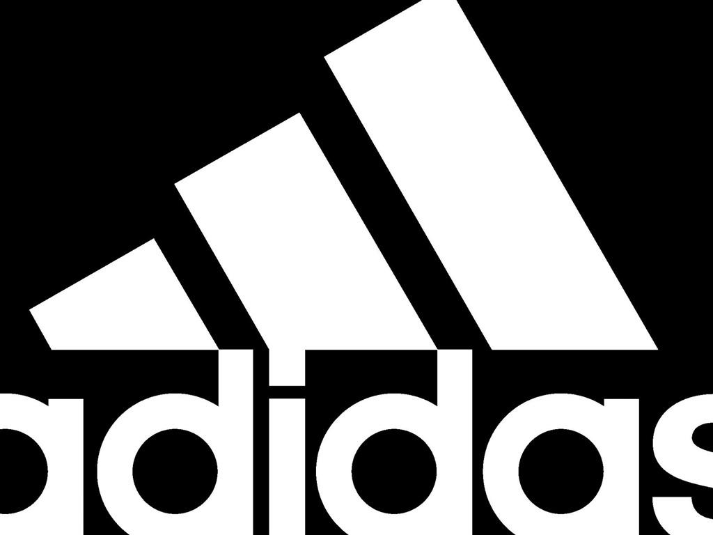 adidas black white logo2012 brand advertising wallpaper