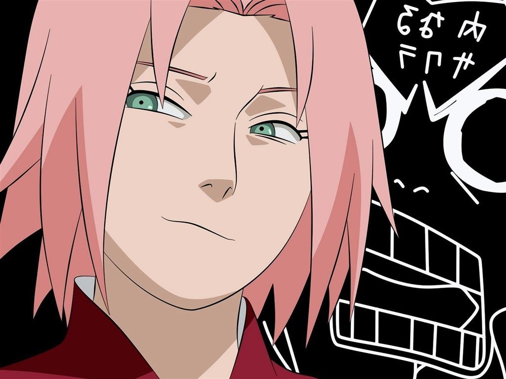 Anime Characters Named Sakura : Sakura haruno naruto anime character wallpaper view