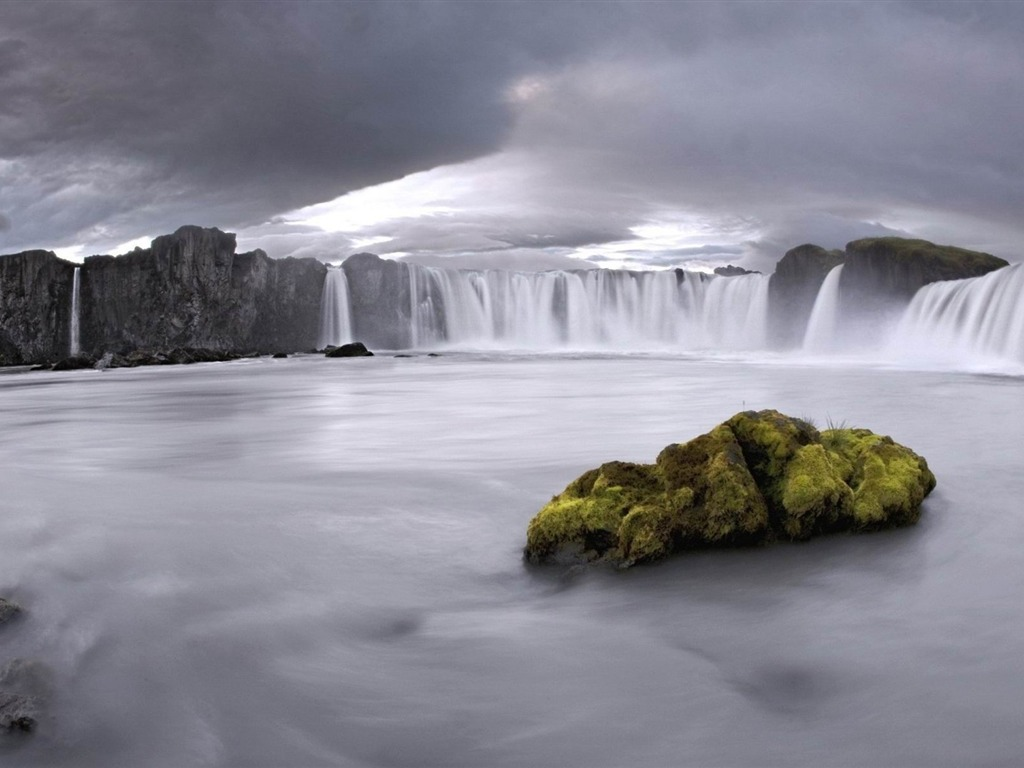 wallpaper godafoss iceland free - photo #27