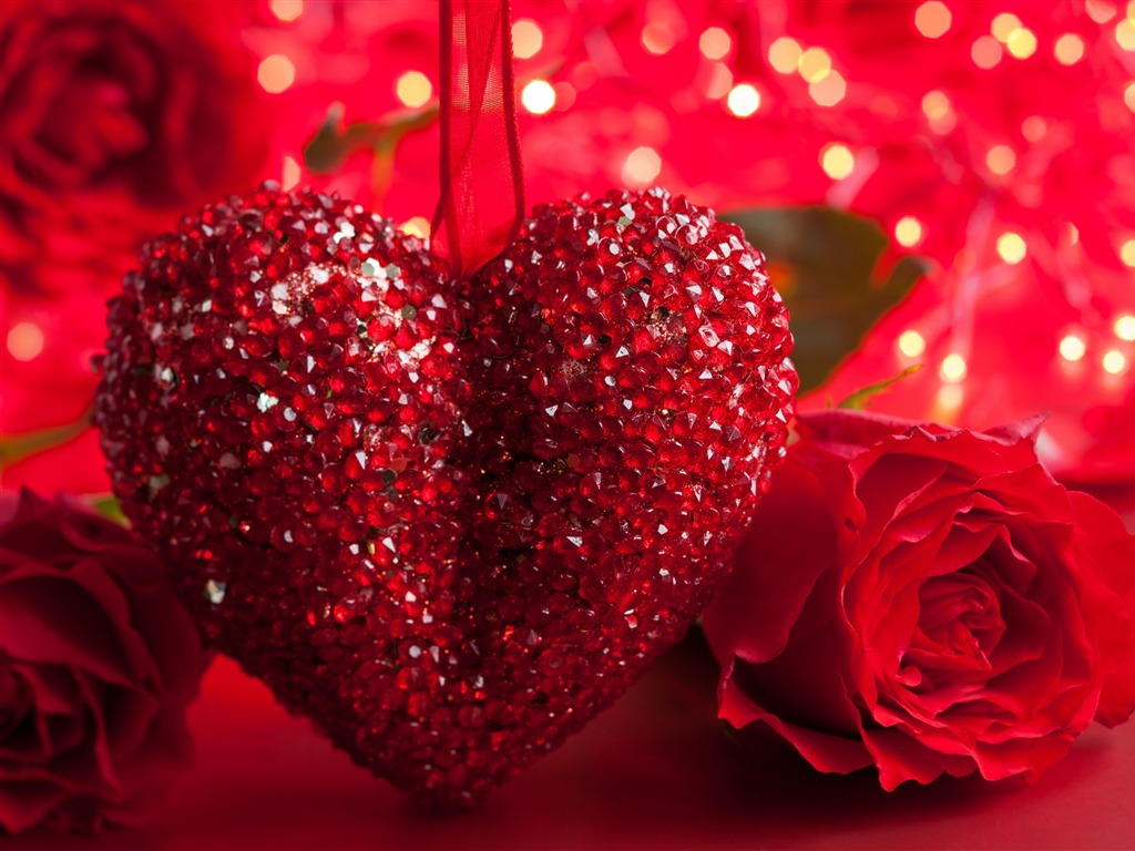 Valentine Day Romance Love-HD Widescreen Wallpaper