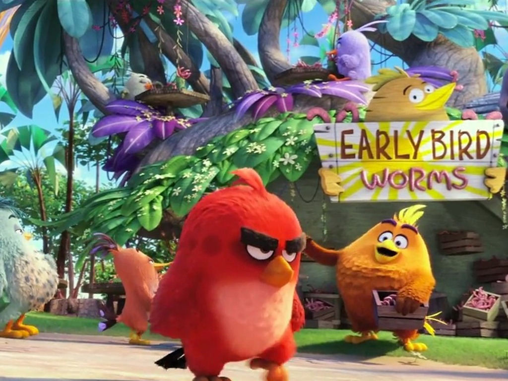 The Angry Birds (2016) Full English Movie Watch Online