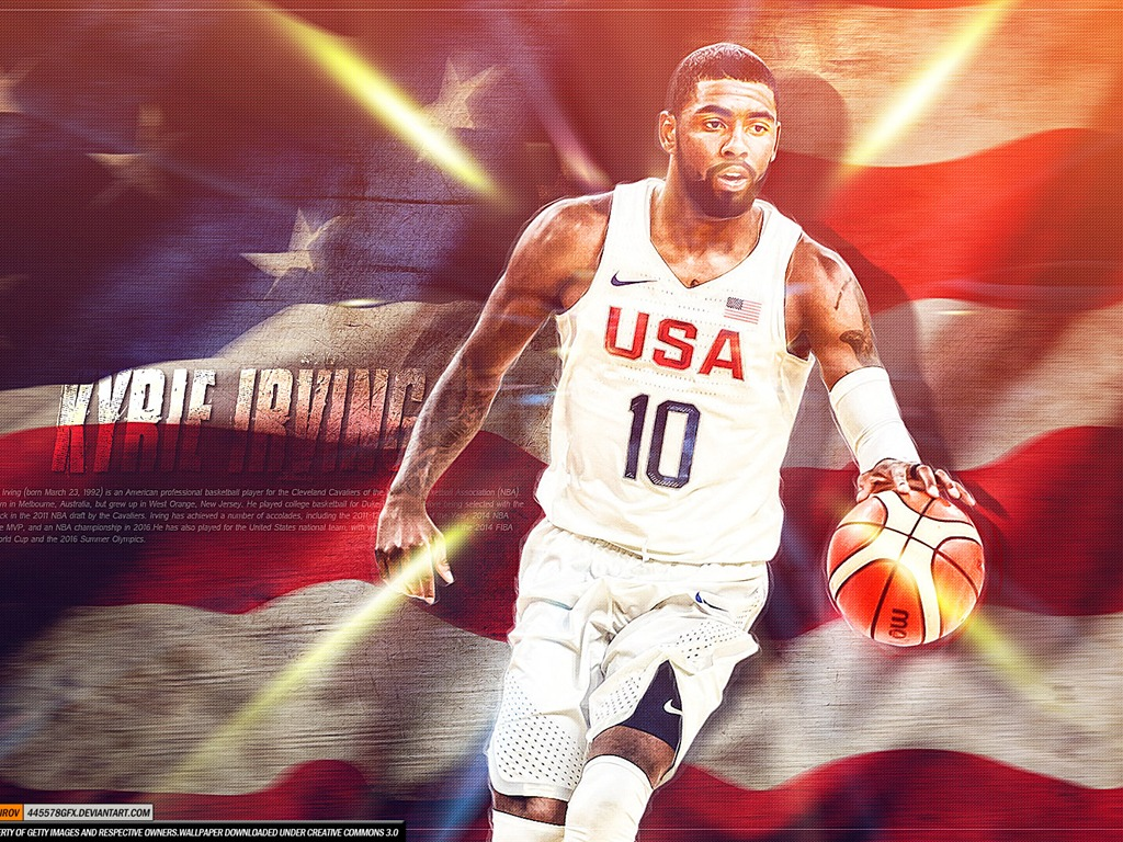 e01d807ff83 Kyrie Irving-2016 Basketball Star Poster Wallpapers Preview ...
