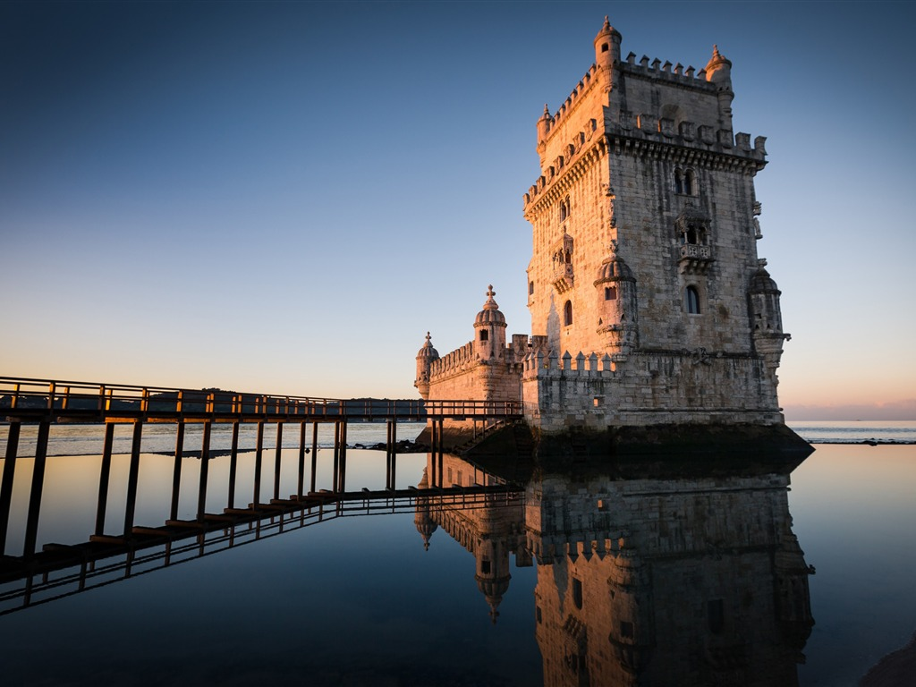 Belem Tower In Lisbon Portugal High Quality Hd Wallpaper