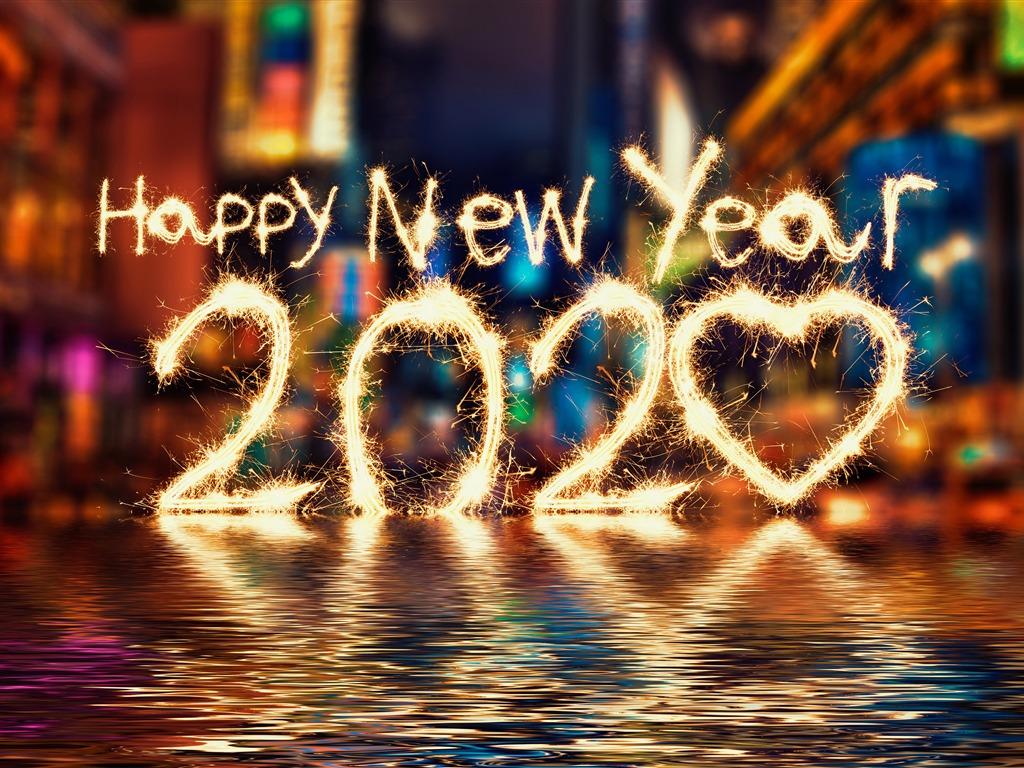 2014年日历壁纸_2020年新年快乐,高质量,桌面预览 | 10wallpaper.com
