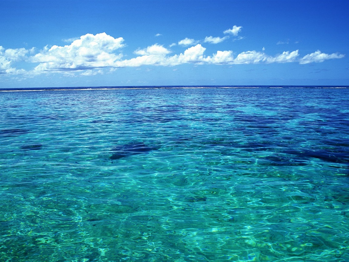 tahiti crystal clear sea water wallpaper 1152x864 download. Black Bedroom Furniture Sets. Home Design Ideas