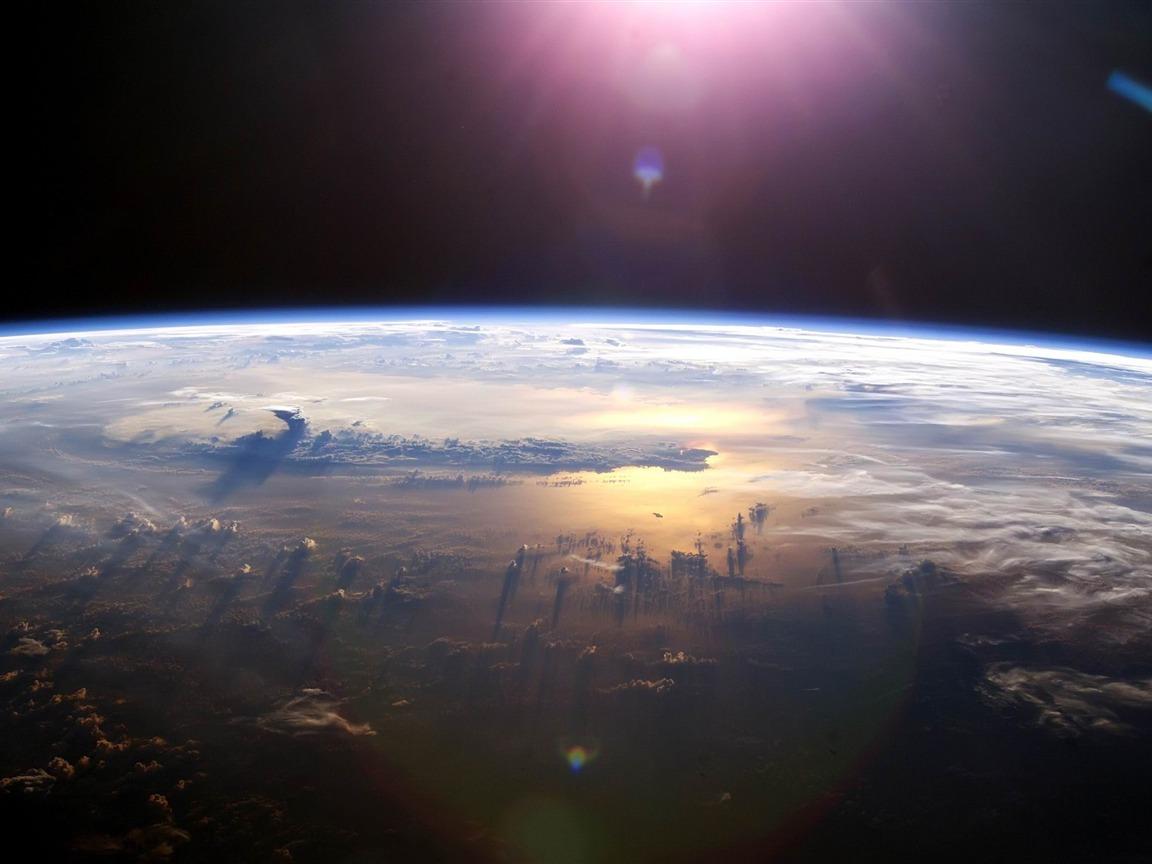 Pacific ocean from space space exploration secret theme - Space explorer wallpaper ...