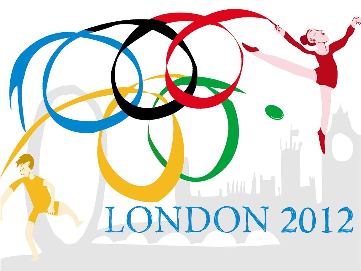 Рисунок на тему ольмпийские игры 2012 летний вид 2