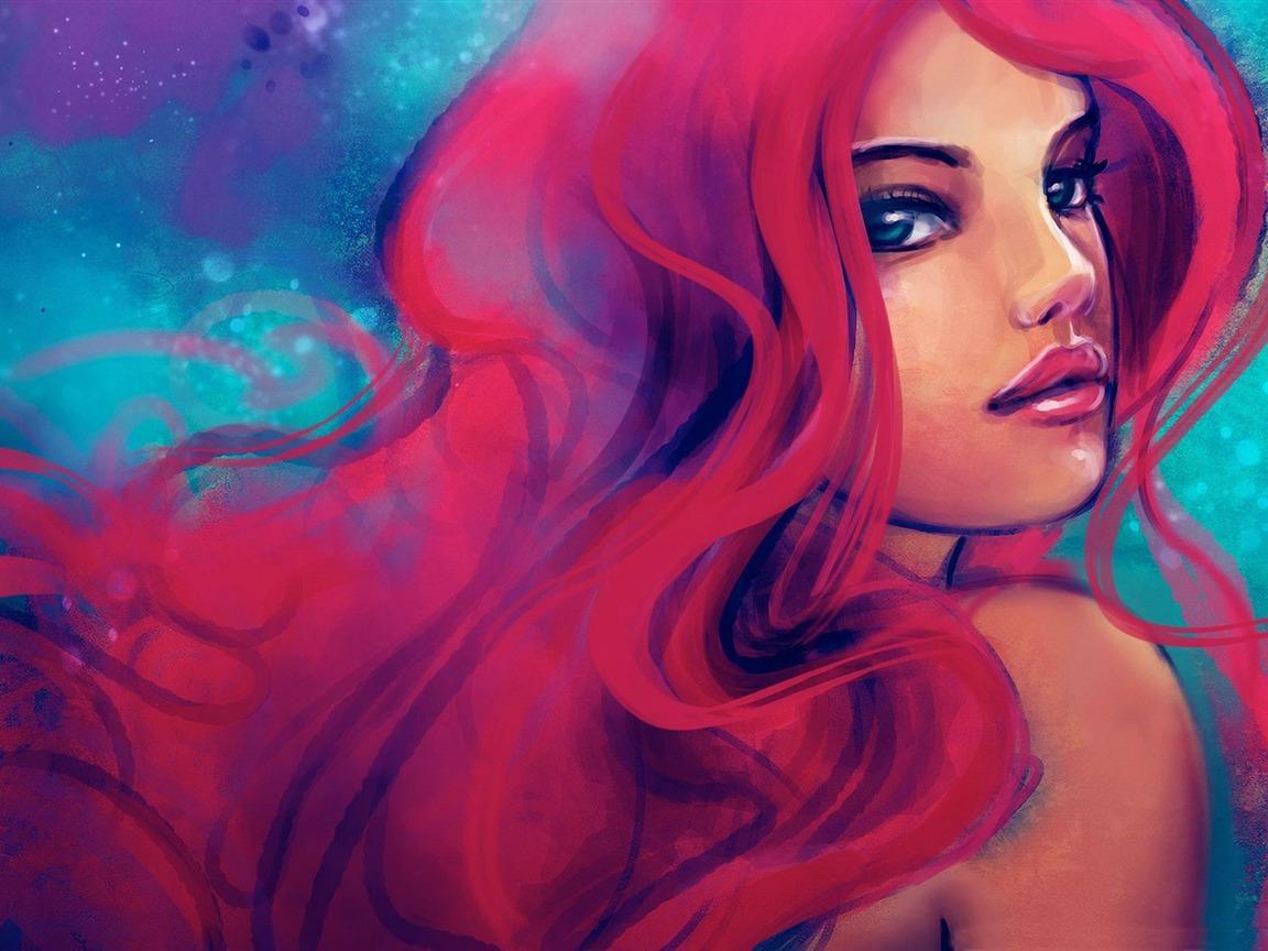 道场里的红发姑娘攻略