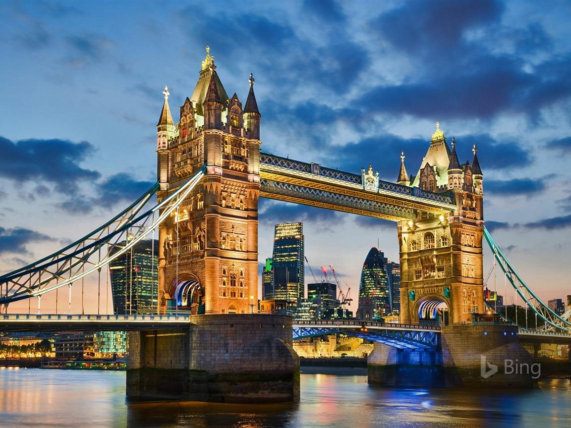 Tower Bridge In London 2016 Bing Desktop Wallpaper Preview