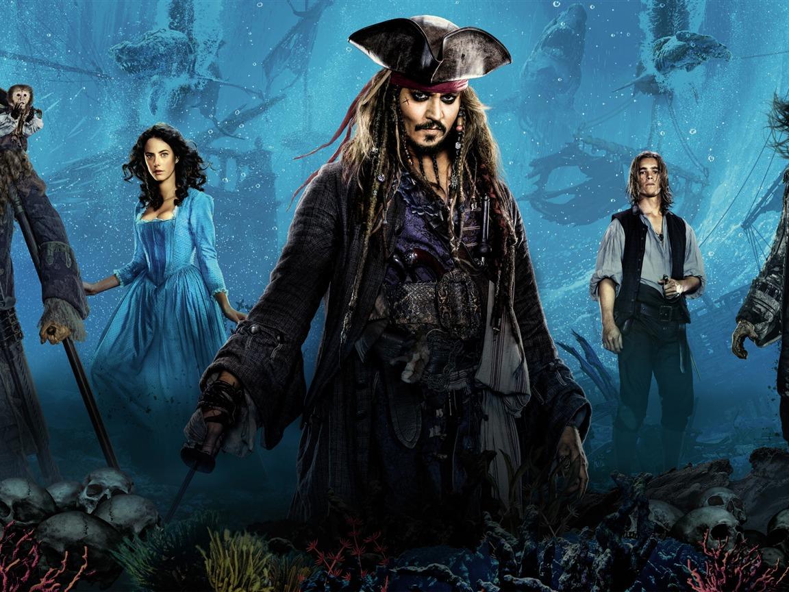 加勒比海盗5:死无对证-2017电影高清壁纸预览 | 10wallpaper.com