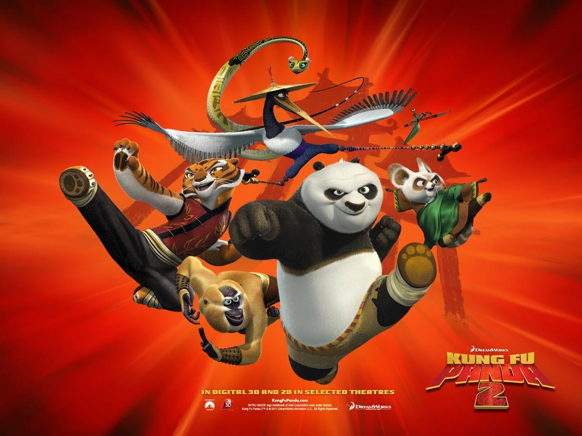 2011年好莱坞电影功夫熊猫2高清壁纸4高清图片