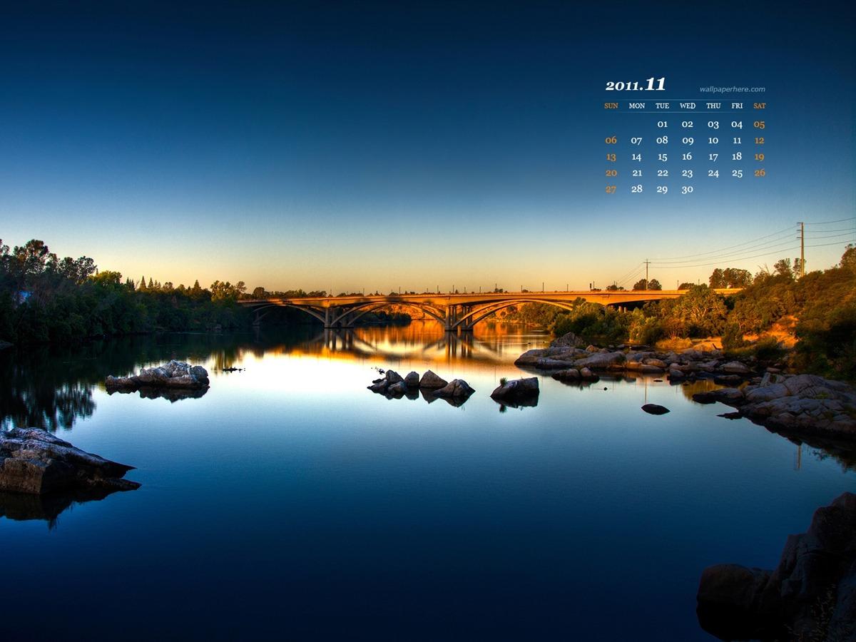 Calendar Wallpaper Nature : Landscape november calendar desktop wallpapers