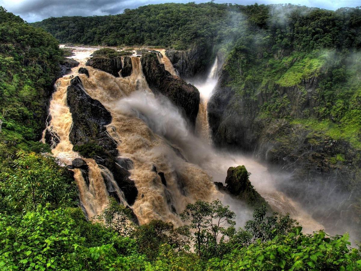 9 Spectacular Hd Waterfall Wallpapers To Download: Spectacular Waterfalls Widescreen Desktop Wallpaper 13 View