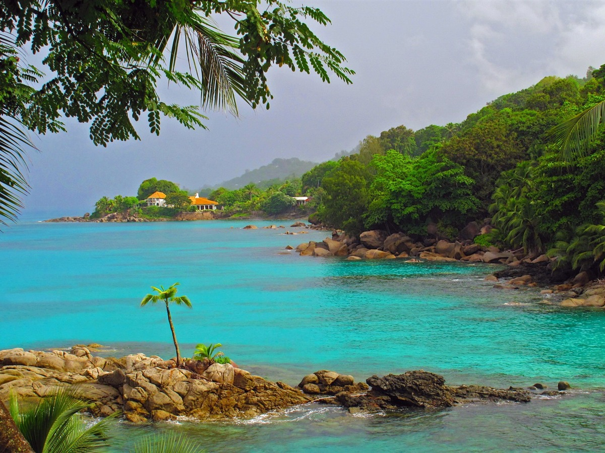 Paradise Seychelles Island Scenery Hd Wallpaper Preview