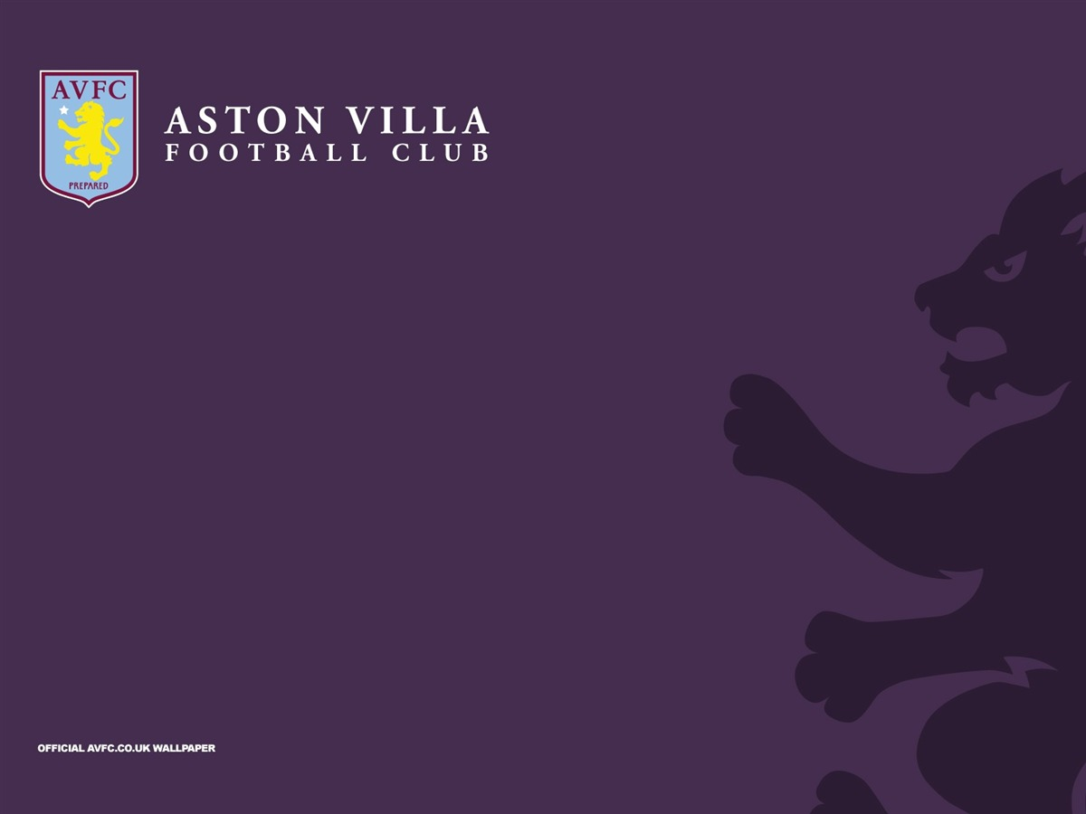 Rampant Lion-Aston Villa 2013 HD Wallpaper Preview