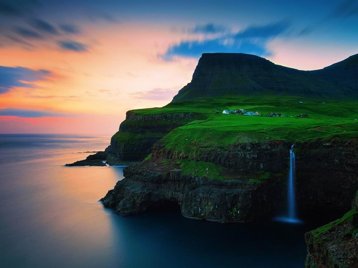 The Faroe Islands Nature Hd Wallpaper Preview