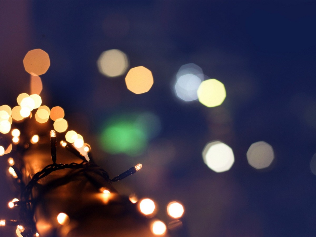 Fresh Bokeh High Quality Wallpaper Download Bokeh: Christmas Garland Lights Winter Bokeh-HIGH Quality