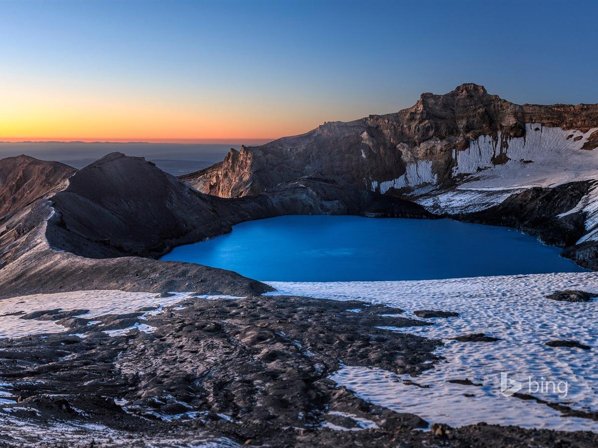 Beautiful Snow Mountain lake-Bing wallpaper Preview ...