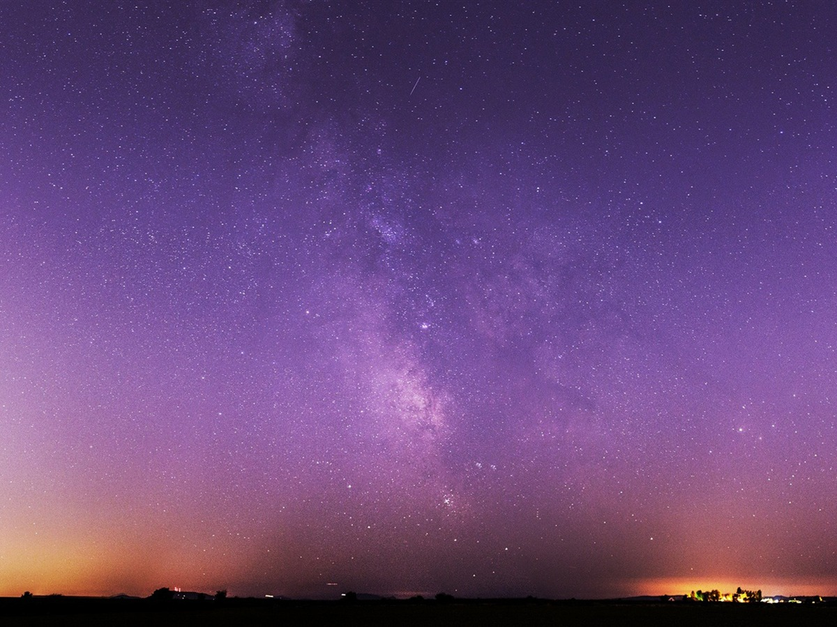 Milky Way Night Sky High Quality Hd Wallpaper Preview