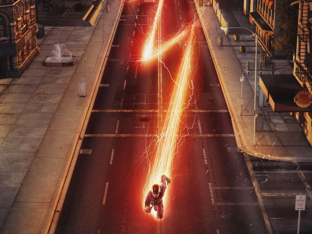 阿凡达高清壁纸_The Flash 闪电侠 电视剧高清桌面壁纸预览   10wallpaper.com
