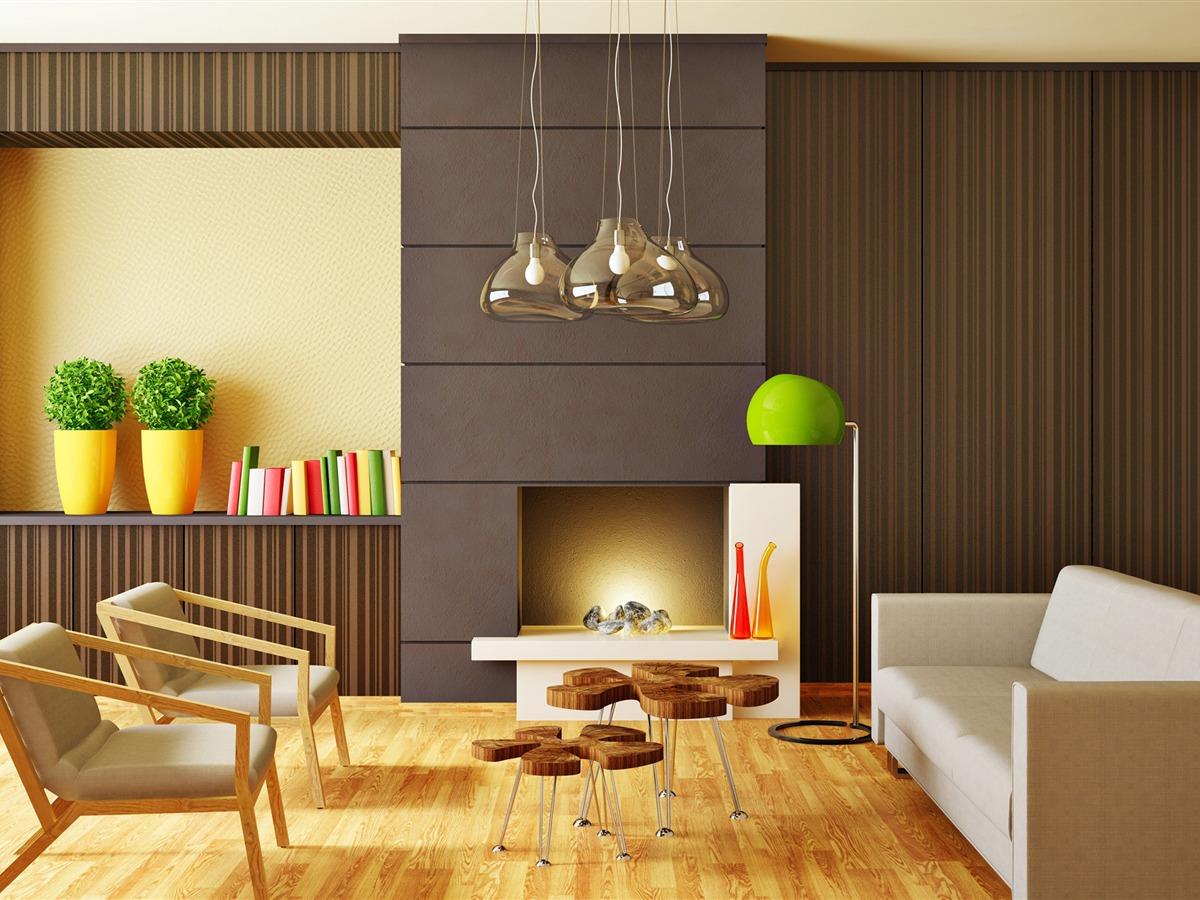 Tema De Diseño De Interiores Minimalista Hd Wallpaper 15