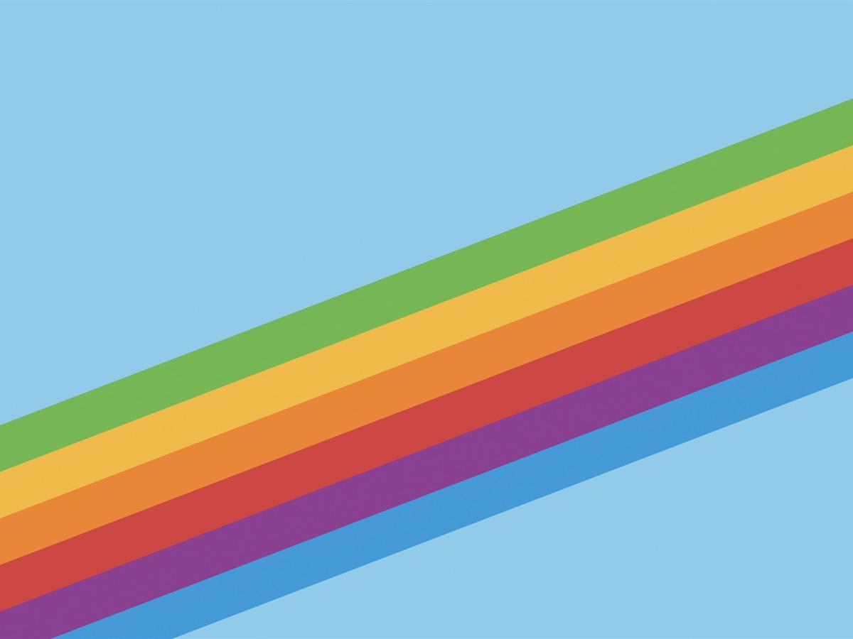 彩虹视网膜 苹果ios 11 Iphone 8 Iphone X高清壁纸预览 10wallpaper Com