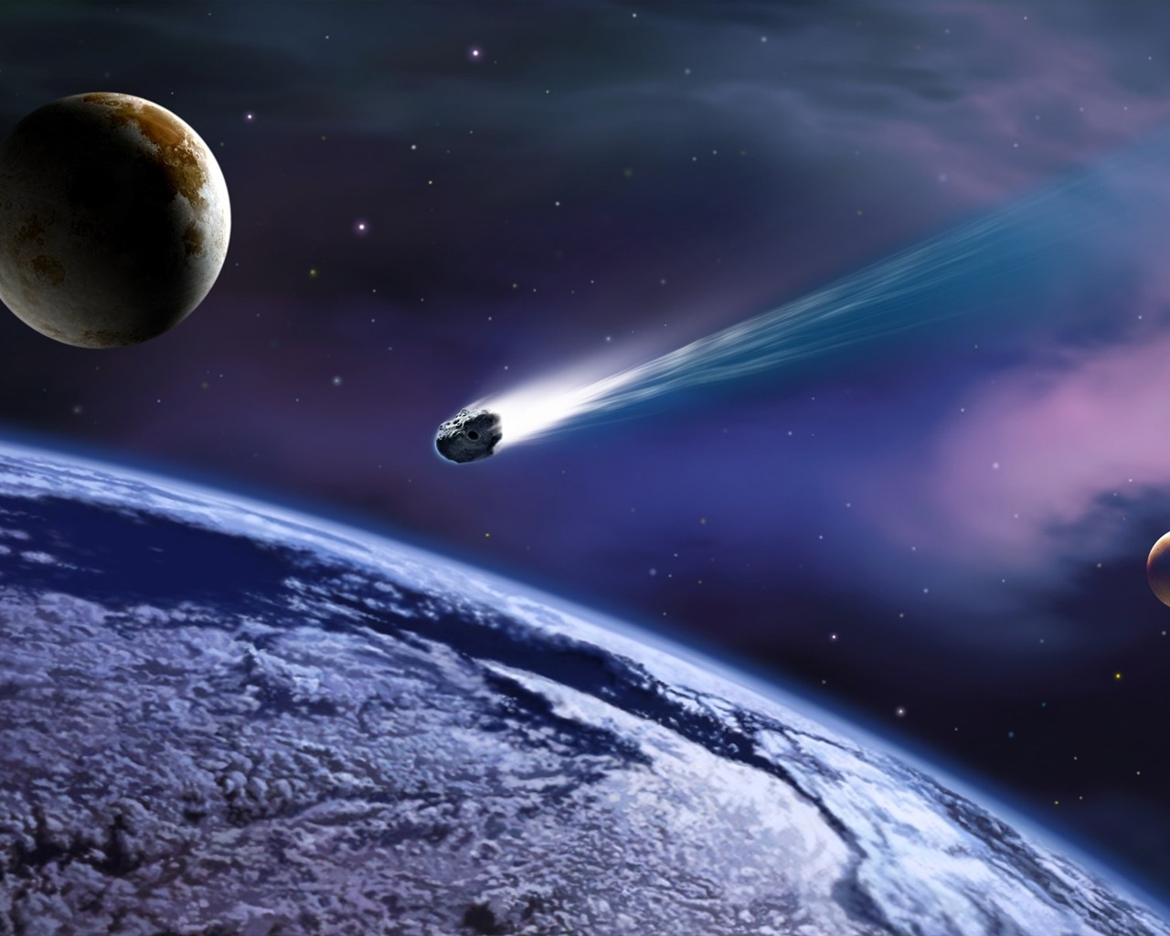 comet or asteroid approaching earth - photo #12