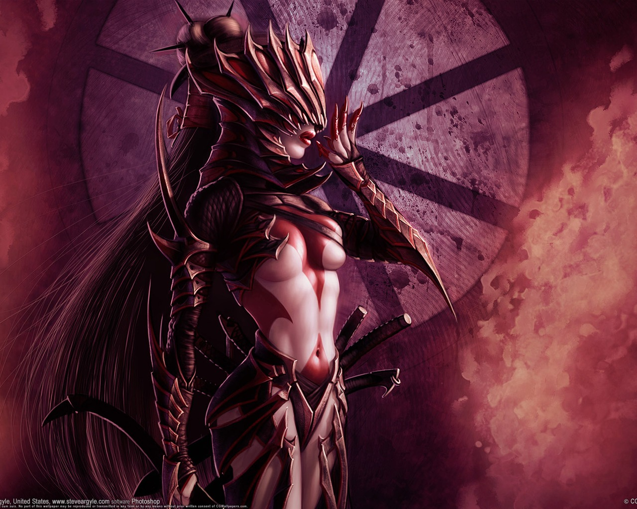 Dark Fantasy Cg Illustration Wallpaper Of Warcraft Preview
