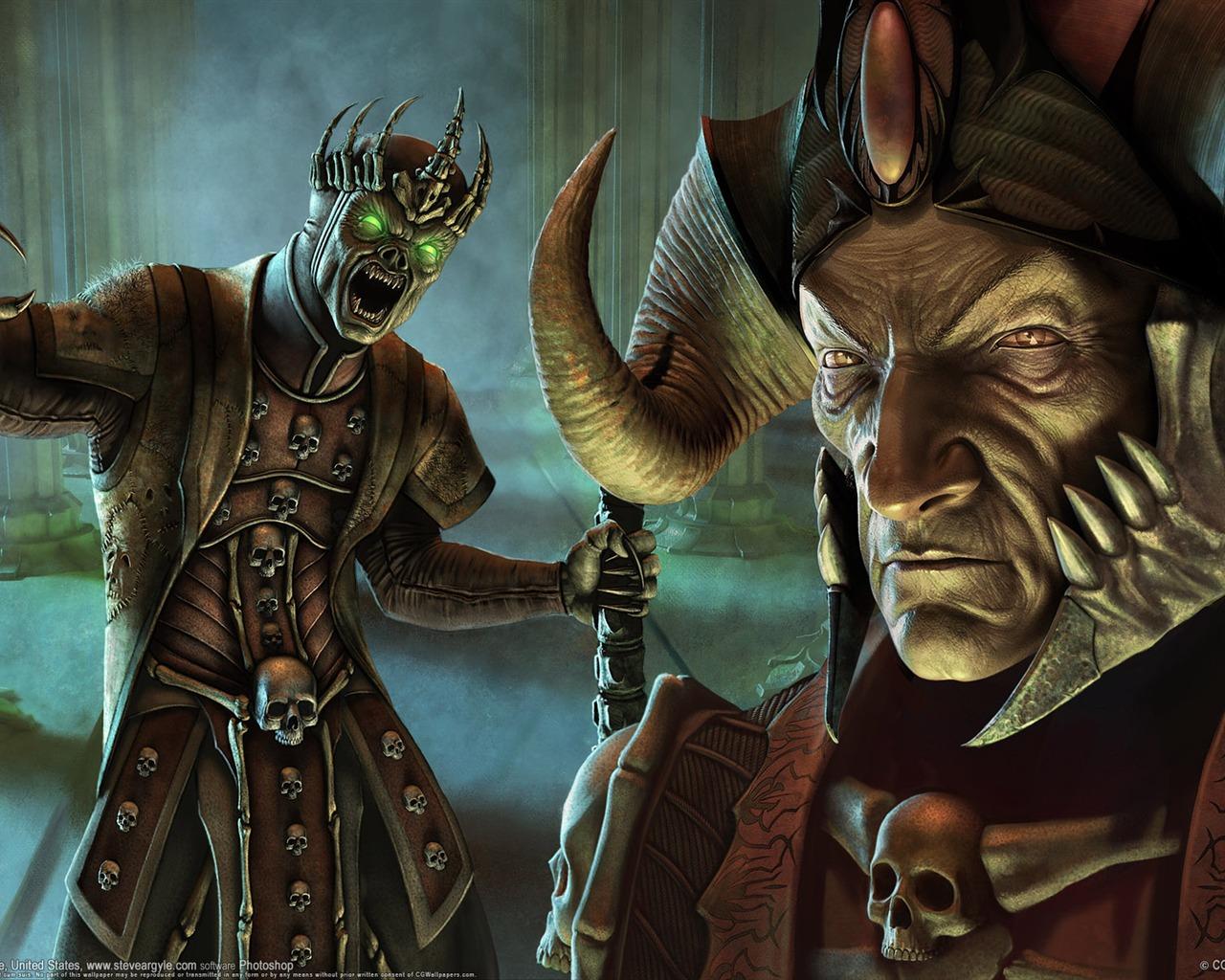 เหล่าขุนนาง Dark_Fantasy_CG_illustration_wallpaper_of_Warcraft_B_1280x1024