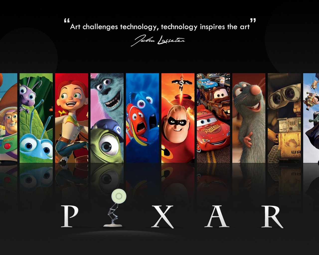 Pixar Cartoon Animation Film Selected Wallpaper Preview