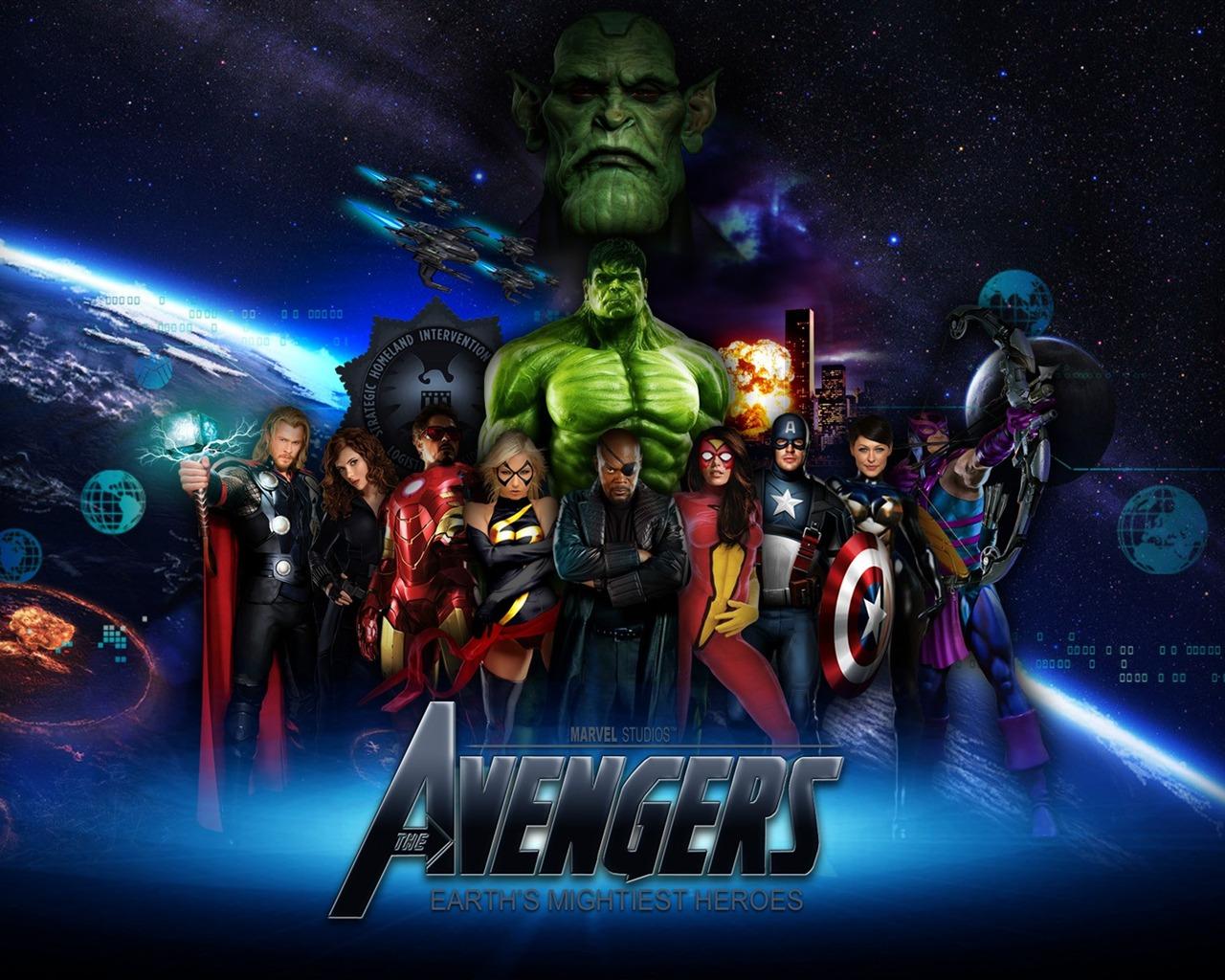 The Avengers 2012 HD Movie Desktop Wallpaper 09-1280x1024 Download | 10wallpaper.com