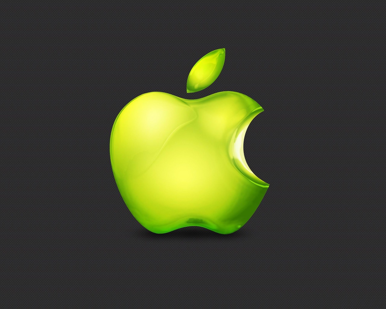 Green Apple Logo Apple Mac Theme Desktop Picture Preview