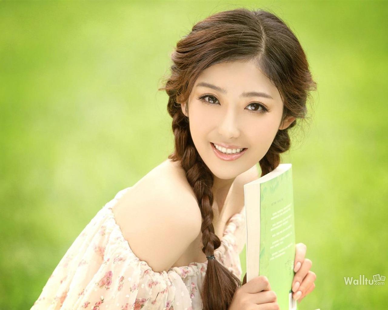 xiao清纯_Zirou Xiao肖紫柔-东方美女写真壁纸预览 | 10wallpaper.com