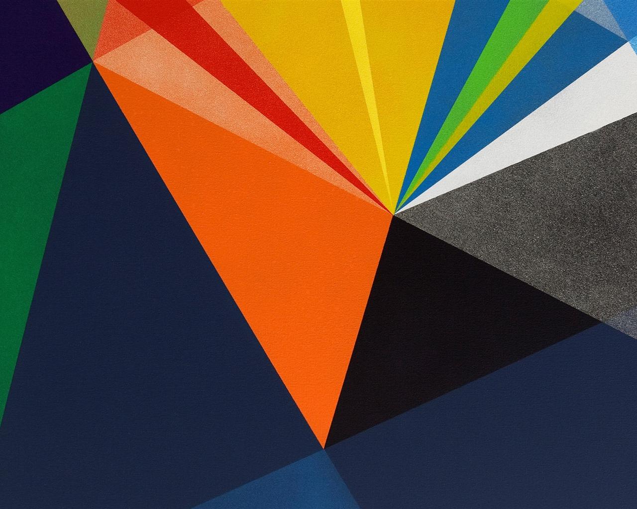 抽象色块-Mac OS 壁纸预览
