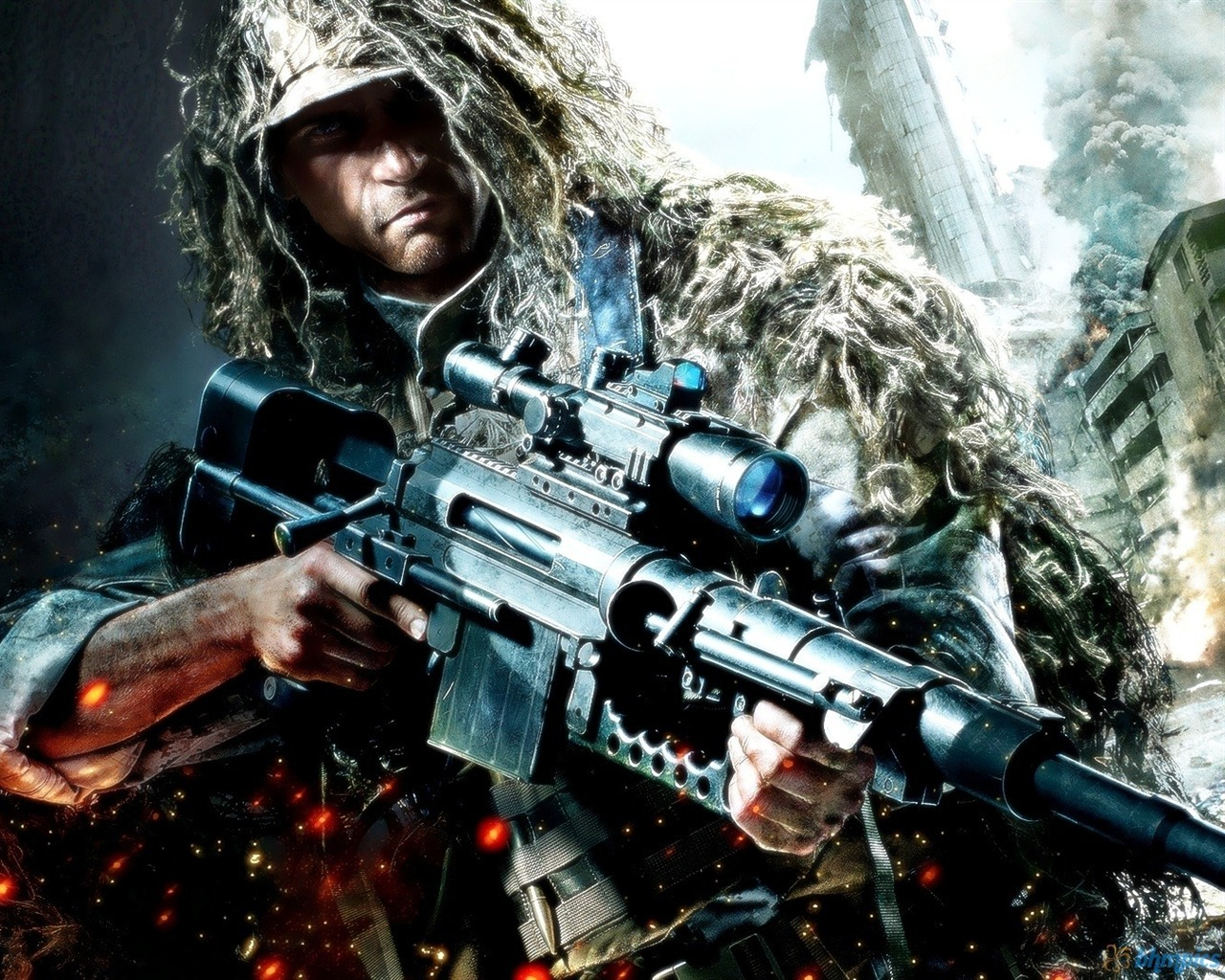 sniperghost warrior 2 game hd wallpaper 07 1280x1024 wallpaper