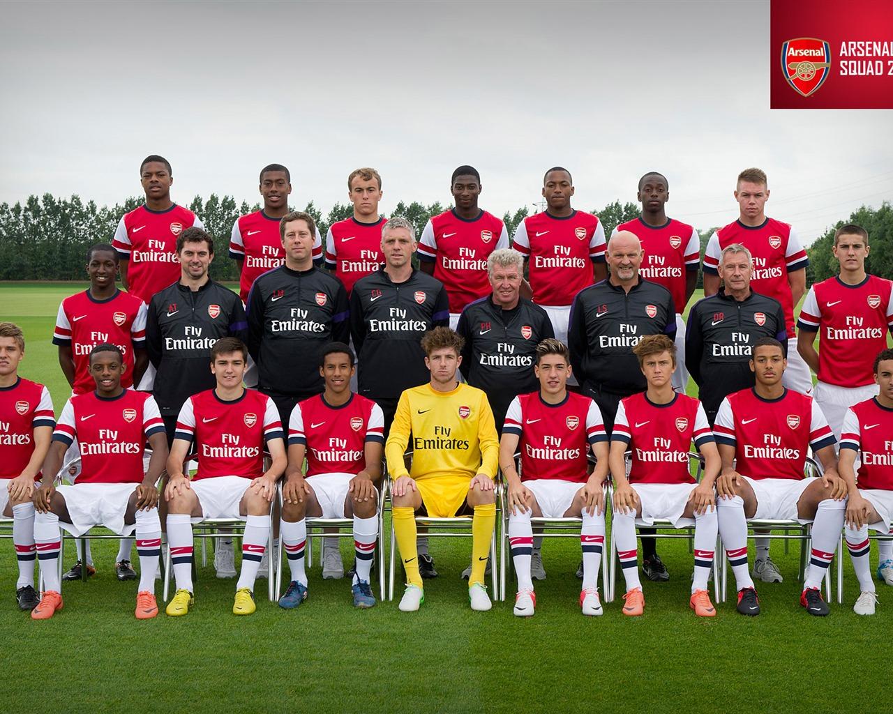 2012-13 wallpaper Squad-Arsenal  season Arsenal Under-18