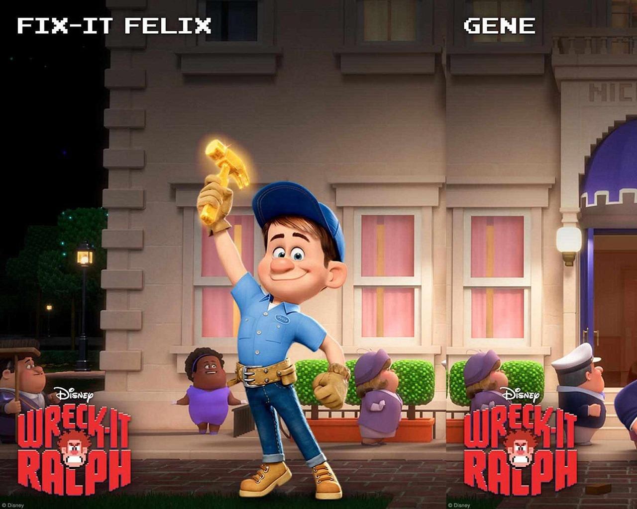 Wreck It Ralph Animation Movie 4k Hd Desktop Wallpaper For: Wreck-It Ralph Movie HD Desktop Wallpapers 01 Preview