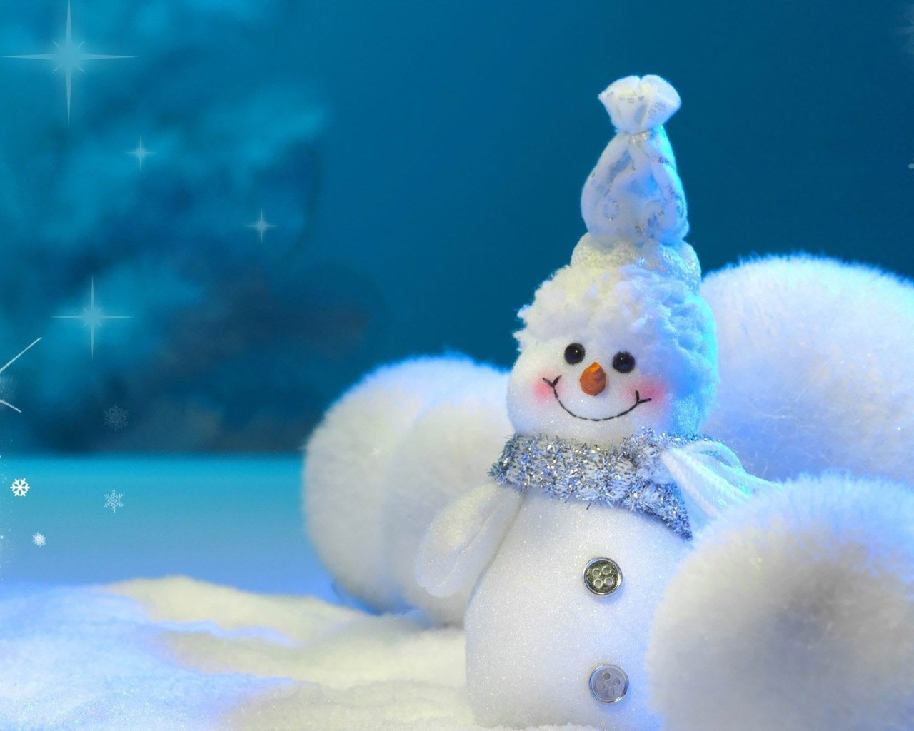 bonhomme de neige 2013 joyeux no l fond d 39 cran aper u. Black Bedroom Furniture Sets. Home Design Ideas