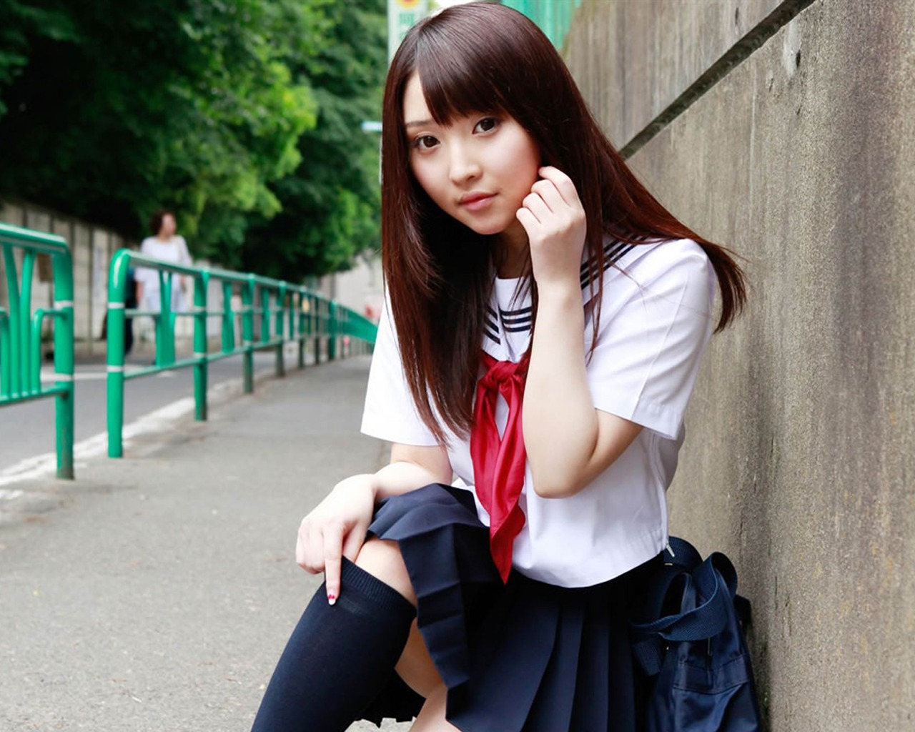 - Asian schoolgirl wallpaper ...