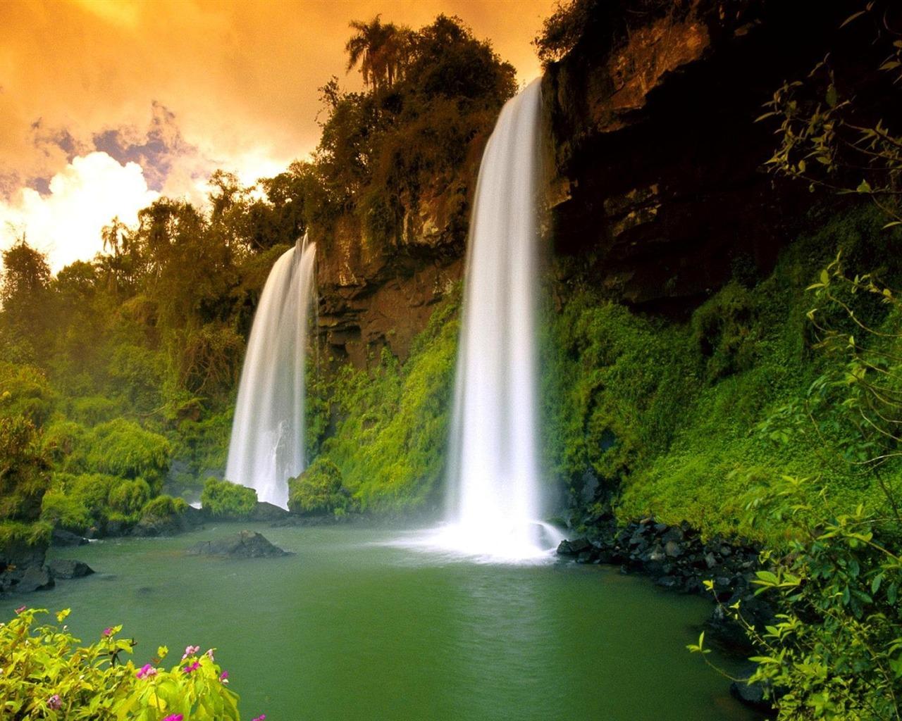 9 Spectacular Hd Waterfall Wallpapers To Download: Spectacular Waterfalls Widescreen Desktop Wallpaper 04