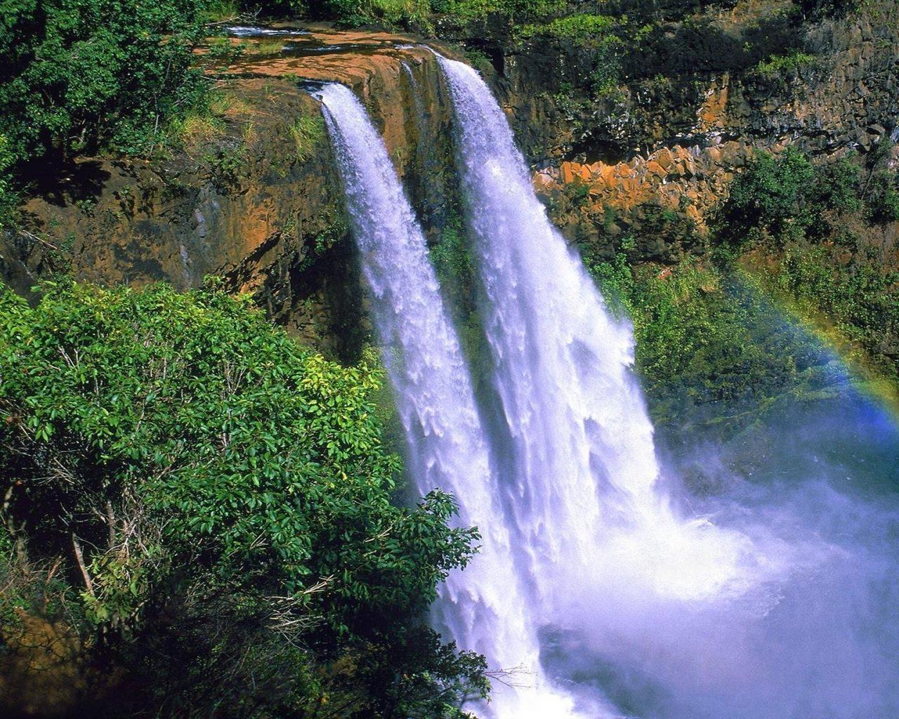 9 Spectacular Hd Waterfall Wallpapers To Download: Spectacular Waterfalls Widescreen Desktop Wallpaper 11