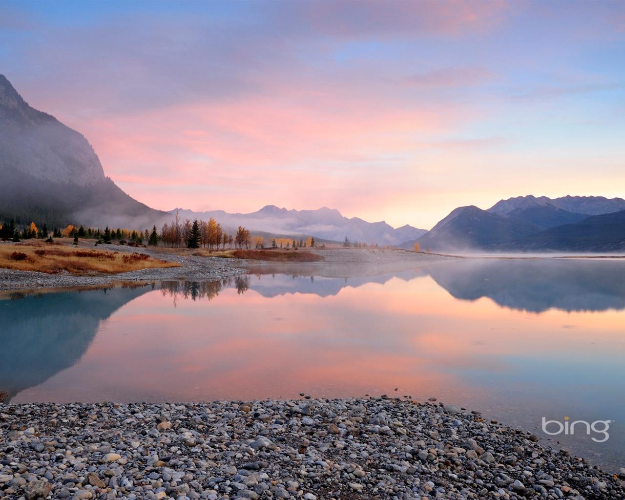 Tranquil Lake Landscapes September 2013 Bing Wallpaper