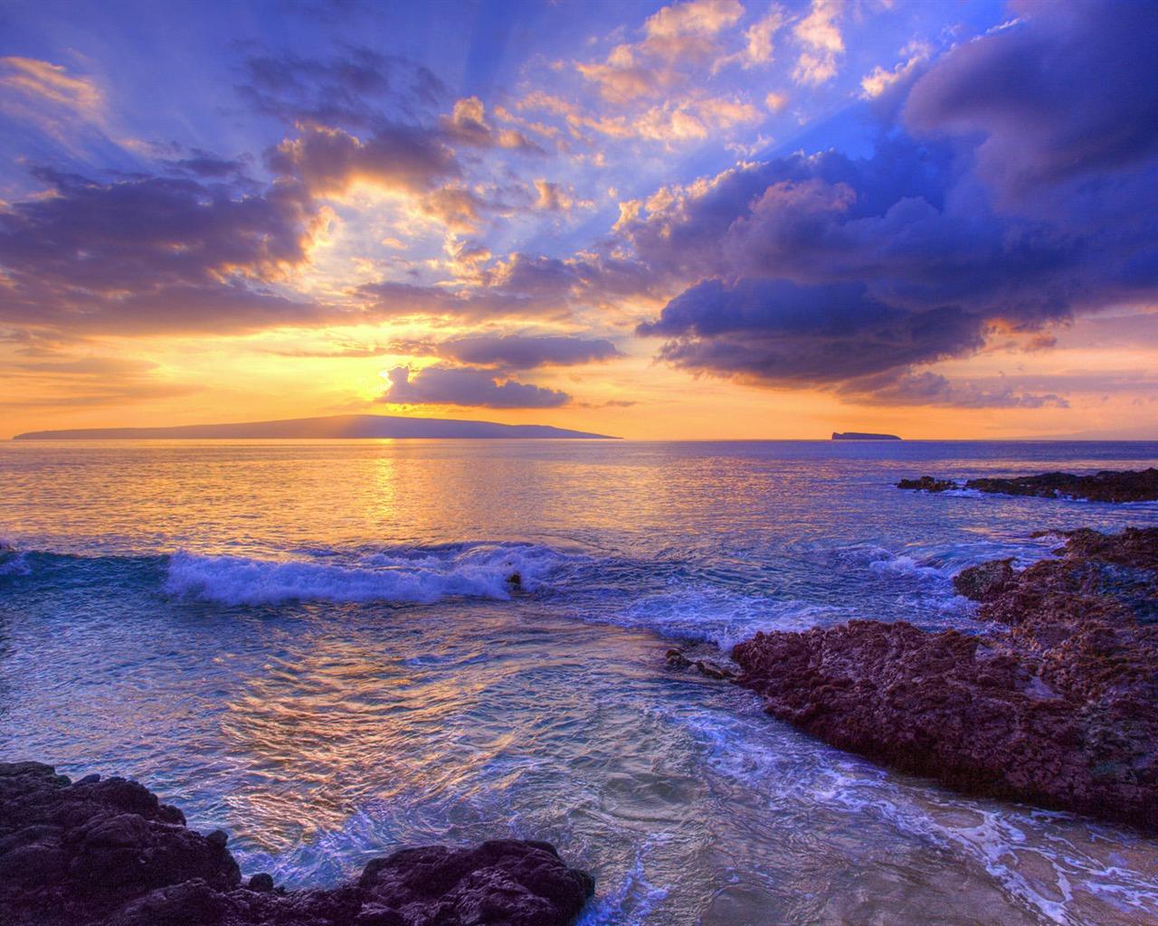 Rays Beach Microsoft Windows Hd Fonds D 233 Cran Aper 231 U