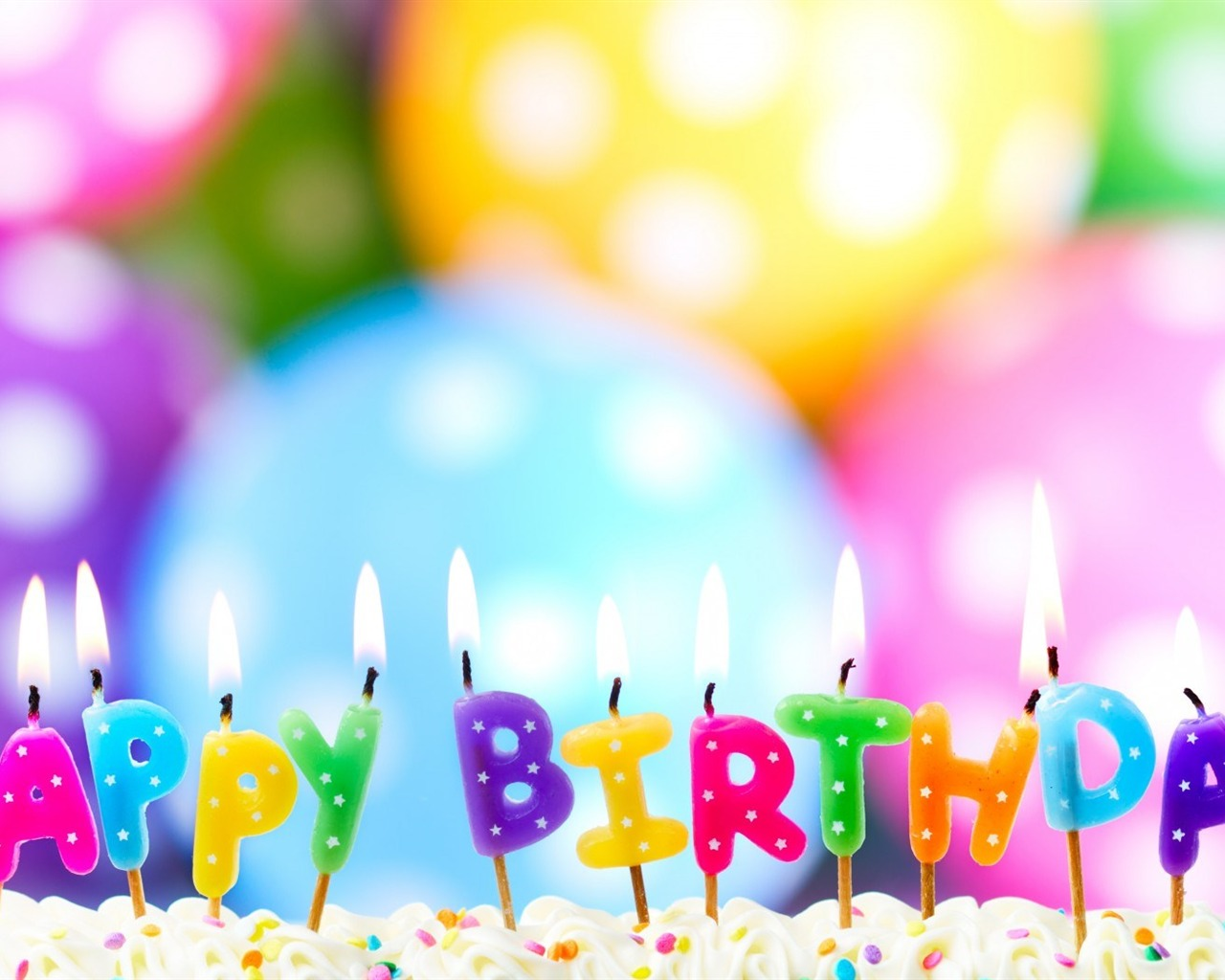 Cake Candles Happy Birthday-HIGH Quality Wallpaper Preview