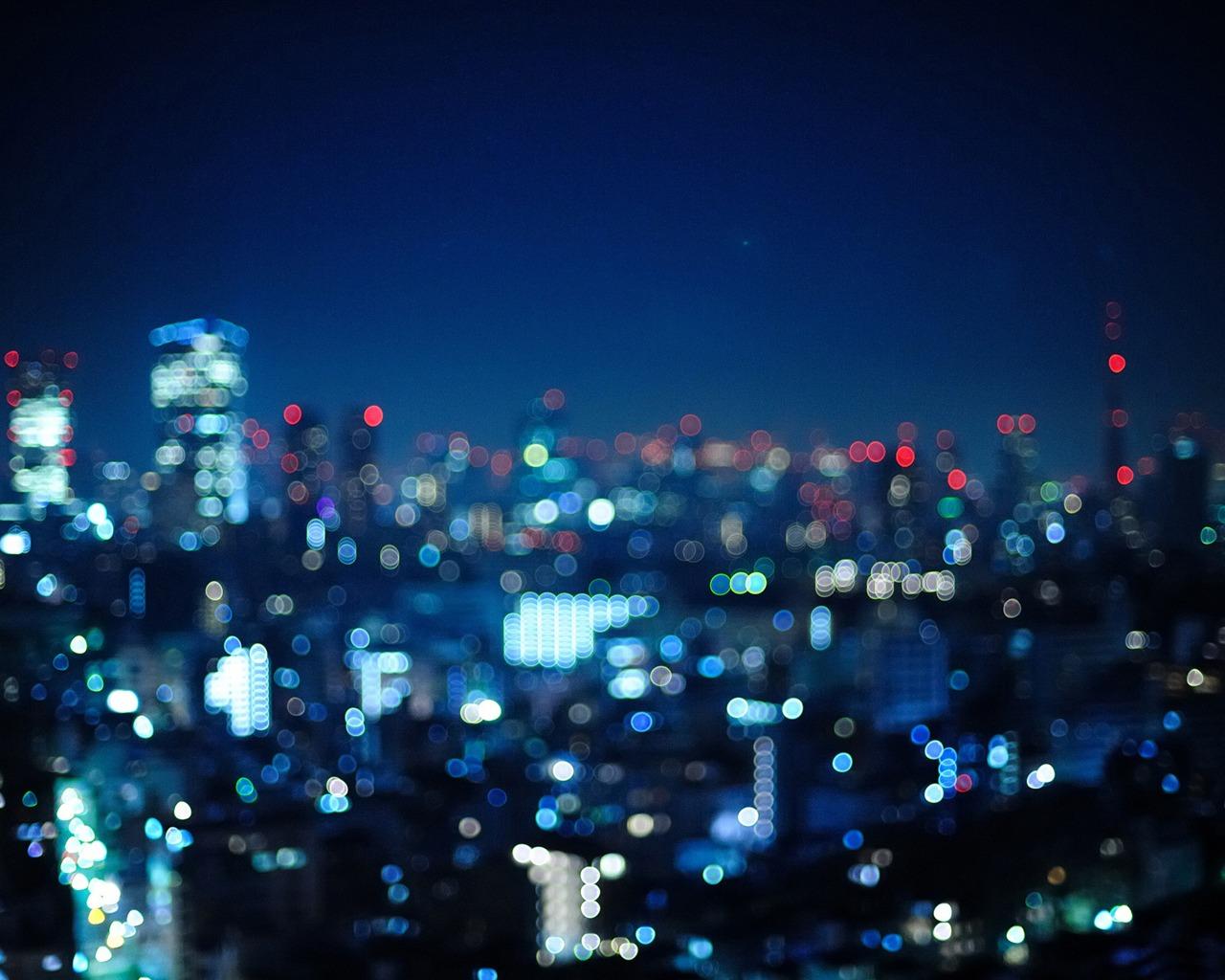 Bokeh Wallpapers High Quality: Tokyo Bokeh City-High Quality HD Wallpaper Preview