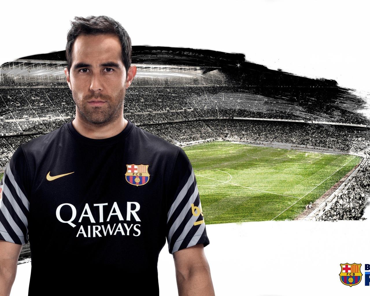 클라우디오 브라보 -2015-2016 FC 바르셀로나의 HD 월페이퍼시사