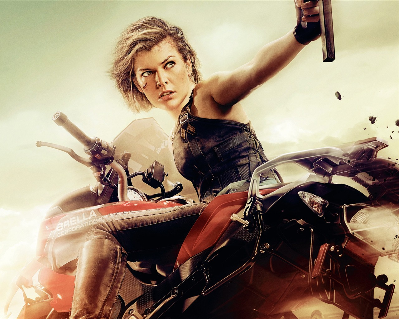 Milla jovovich resident evil the final chapter 2016 movie - Resident evil the final chapter wallpaper ...