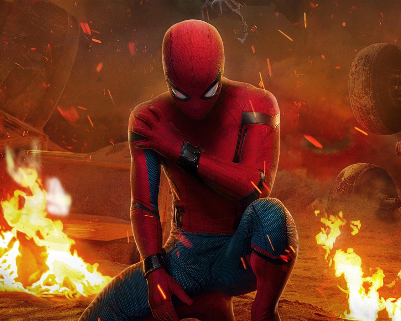 热门电视剧_2017 蜘蛛侠:英雄归来Spider-Man:Homecoming 高清电影壁纸预览 ...